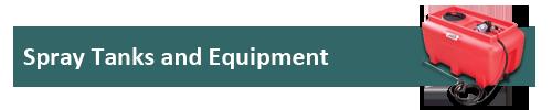 Spray Tanks and Equipment